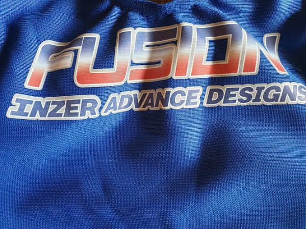 Inzer - Fusion DL - Powerlifting - Deadlift Suit - blue