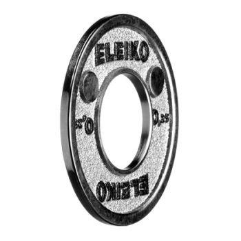 Eleiko - Powerlifting - Hantelscheibe - 0,25 kg - silber