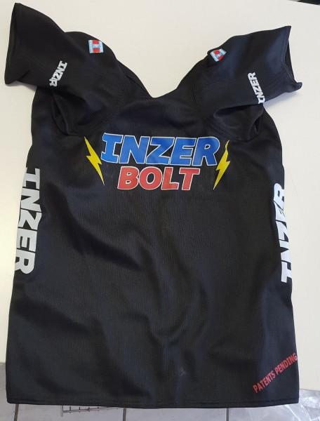 Inzer - Bolt - Bankdrücker-Shirt - schwarz - nicht IPF zugelassen