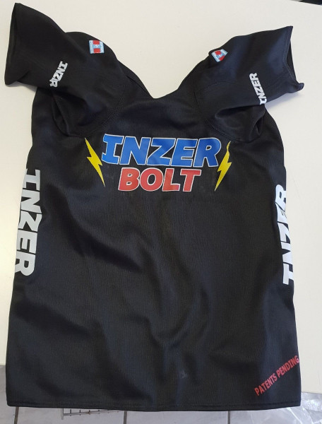 Inzer - Bolt - Bankdrücker-Shirt - schwarz