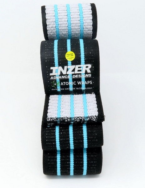 Inzer - Atomic Knee Wraps - blue ice