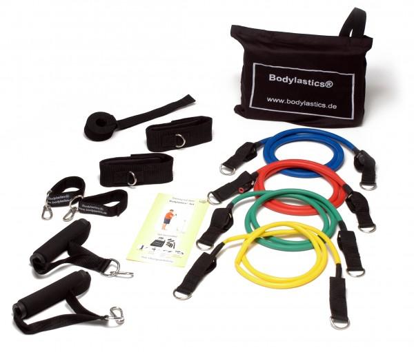 Bodylastics© Standard-Kit Level 1-4 inkl. Anleitung