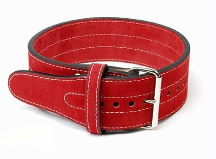 Inzer - Buckle Belt - Single Prong - rot/red/rouge - 10 mm