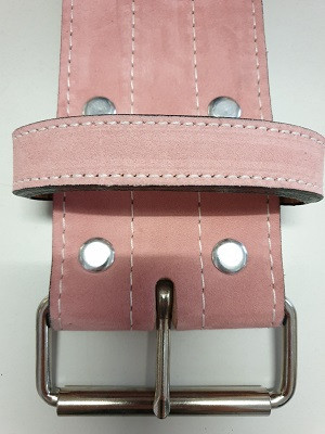 Inzer - Buckle Belt - Single Prong - pink - 10 mm