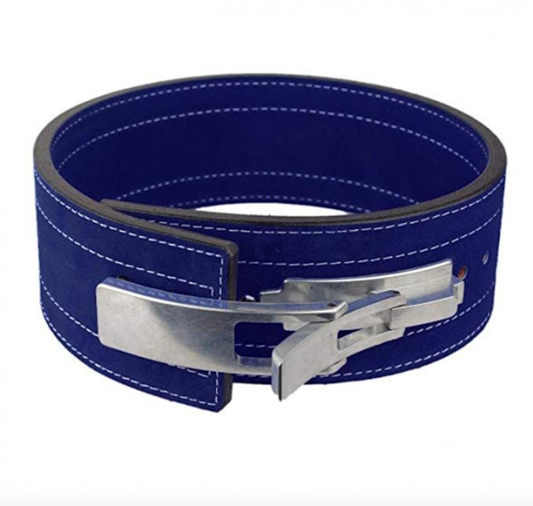 Inzer - Lever Belt - dunkelblau - navy - 10 mm