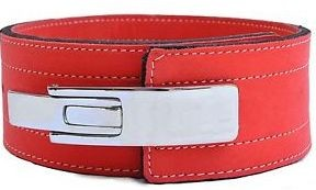 Inzer - Lever Belt - 10 mm - red