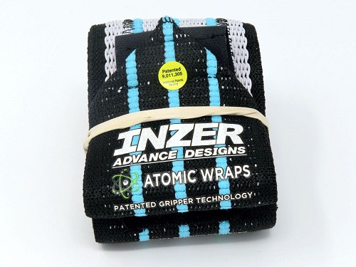 Inzer - Atomic Wrist Wraps - blue ice
