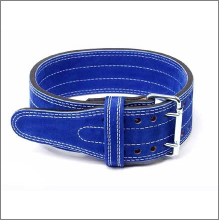 Inzer - Buckle Belt - 2 Prong - blau/blue/bleu - 10 mm