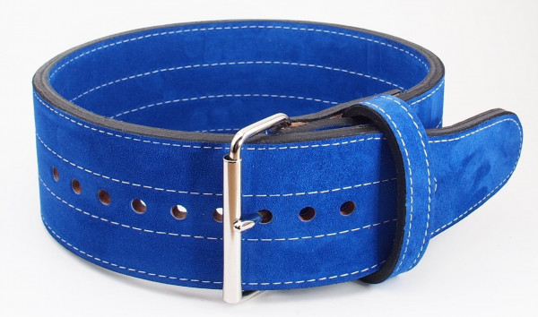 Inzer - Buckle Belt - Single Prong - blau/blue/bleu - 10 cm