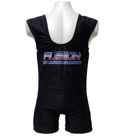 Inzer - Fusion DL - Powerlifting - Deadlifting Suit - black