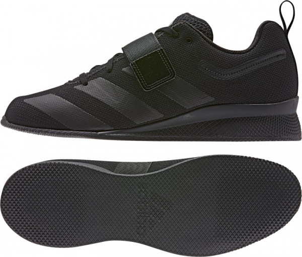 Weightlifting Shoes - Adidas Adipower II - black