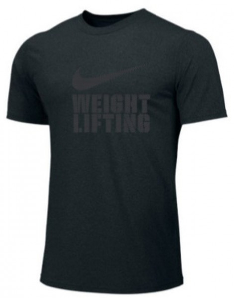 Nike Weightlifting Logo Shirt black/grey