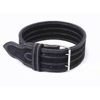 Inzer - Buckle Belt - Double Prong - schwarz/black/noir - 13 mm