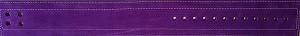 Inzer - Lever Belt - lila/purple/pourpre - 10 mm