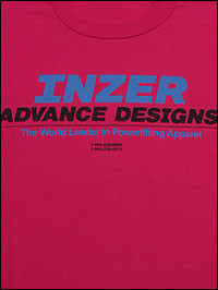 Inzer - Logo-Shirts - Advance Design pink