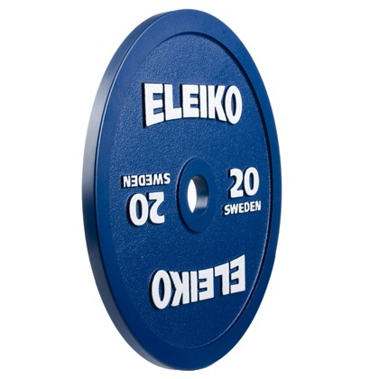Eleiko - Powerlifting- Hantelscheibe - 20,0 kg - blau