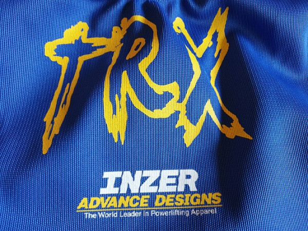 Inzer TRX - Powerlifting Squat Suit - blue