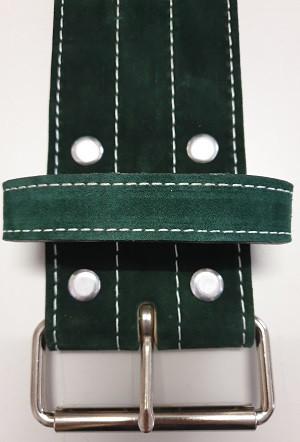 Inzer - Buckle Belt - Single Prong - forestgreen - 10 mm