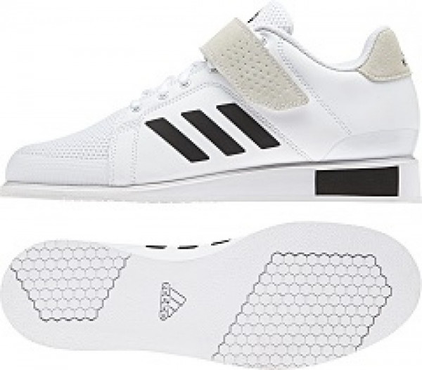 Gewichtheberschuh Adidas Power Perfect III weiß