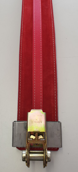 Inzer PR-Belt 13 mm red