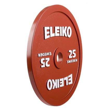 Eleiko - Powerlifting - Hantelscheibe - 25,0 kg - rot