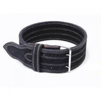 Inzer - Buckle Belt - Double Prong - schwarz/black/noir - 10 mm