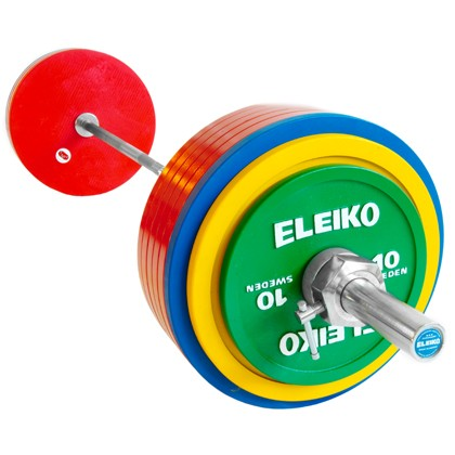 Eleiko - Powerlifting - Wettkampf - Hantelsatz 285,0 kg mit IPF-Zertifizierung