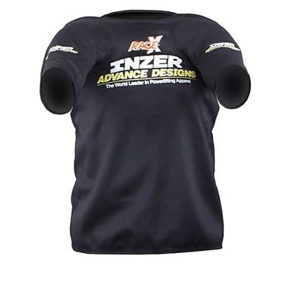 Inzer - Rage X - Bankdrückshirt - schwarz